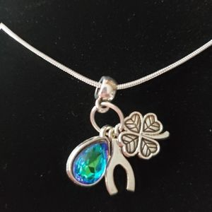 """Lucky Charm 22""""\ .925 Sterling Silver Necklace"""
